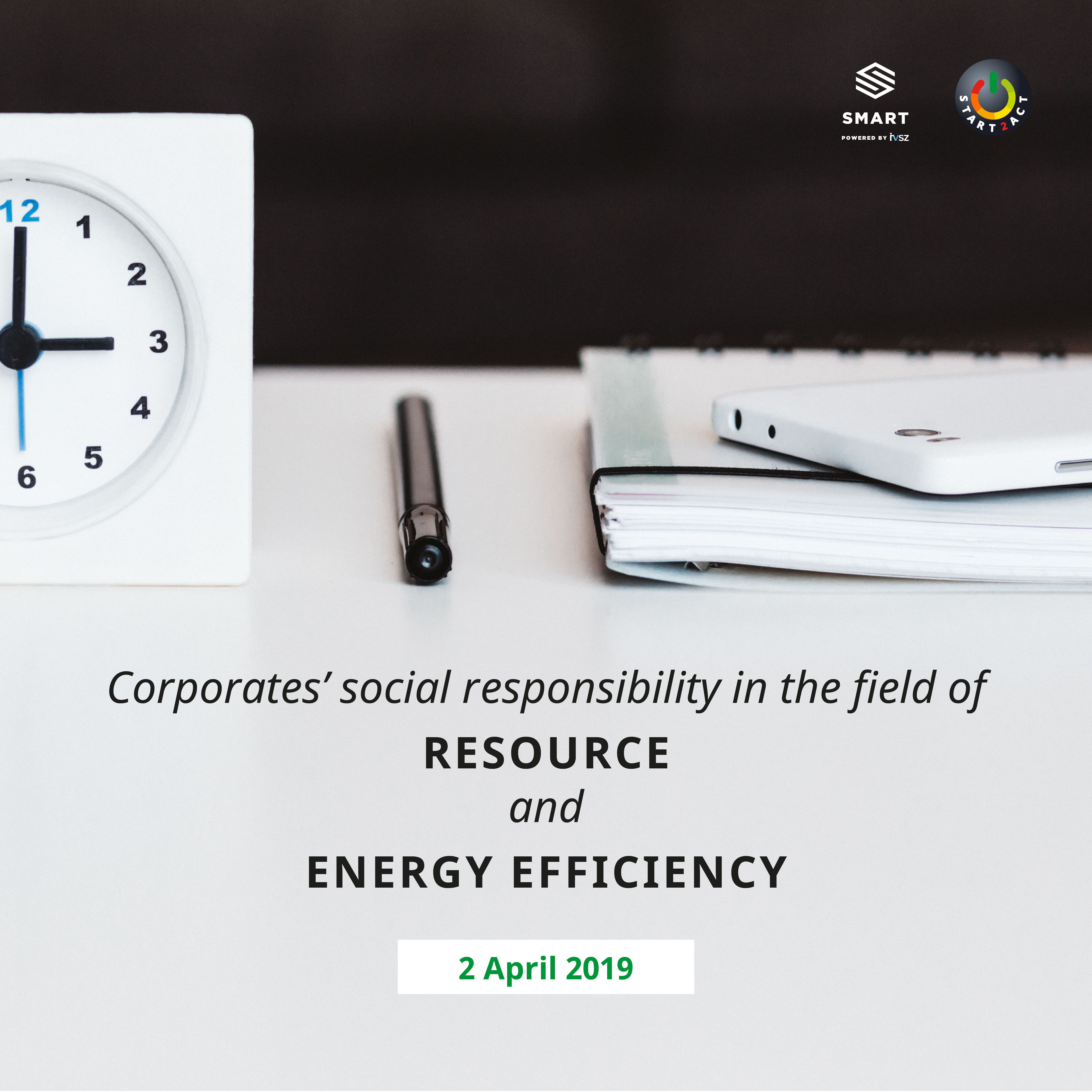 Social responsibility through resource and energy consciousness in businesses